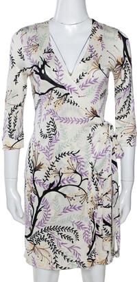 M Missoni Multicolor Printed Silk Jersey Wrap Dress S