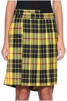 Junya Watanabe Tartan Wool Skirt