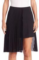 Akris Pleated Asymmetrical Pant-Skirt
