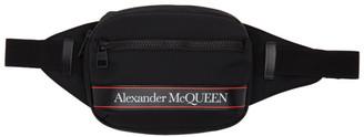 Alexander McQueen Black Urban Belt Bag