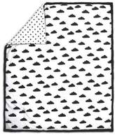 The Peanut Shell Cloud Quilt in Black/White