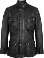 Belstaff Trialmaster Panther 2.0 black leather jacket