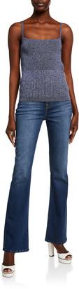 Jen7 High-Rise Slim-Fit Boot Cut Jeans