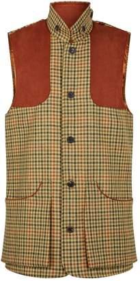 Purdey Tweed High-Collar Shooting Vest