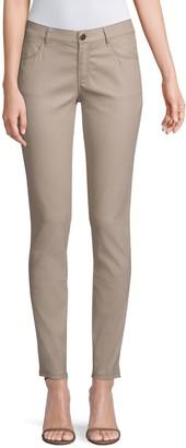 Lafayette 148 New York Mercer Mid-Rise Skinny Jeans