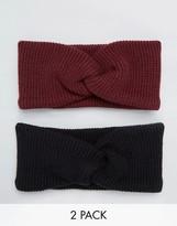 Asos 2 Pack Knit Headband