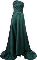 Jason Wu strapless asymmetric gown