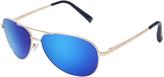Betsey Johnson Blue Aviator Sunglasses