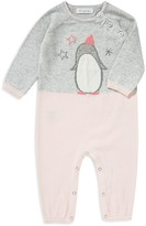 Angel Dear Girls' Color-Block Penguin Coverall