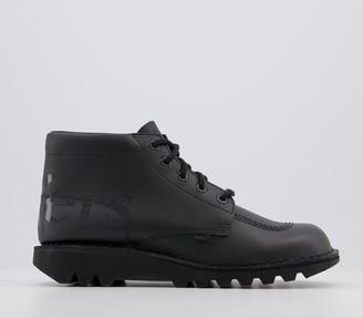 Kickers Kick Hi Luxx Black