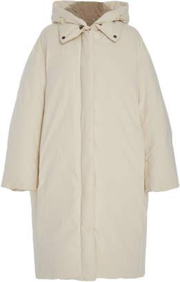 Vince Oversized Hooded Shell Down Coat