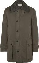 Dries Van Noten - Quilted-collar Cotton-twill Coat