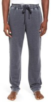 Daniel Buchler Men's Washed Cotton Blend Terry Lounge Pants