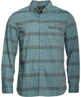 Converse Mens Utility Checked Long Sleeve Shirt Enamel Blue Multi