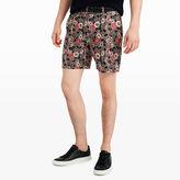Club Monaco Baxter Floral Batik Short
