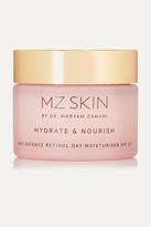 MZ Skin - Hydrate & Nourish Age Defence Retinol Day Moisturizer Spf30, 50ml - one size