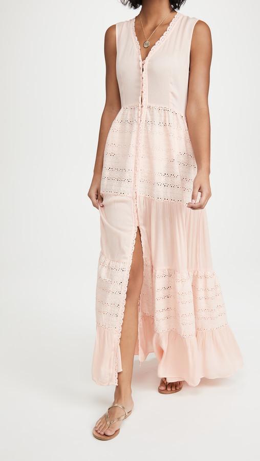 One Size, Blanc-1 FreestyleMo Femmes /Él/égant Bikini Cover Up Robe Floral Caftan de Plage Smock