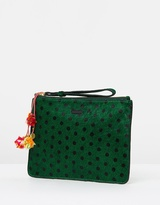 Maison Scotch Leather Clutch Bag