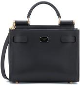 Dolce & Gabbana Sicily 62 Mini leather crossbody bag