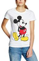 Disney Women's Mickey Mouse Classic Kick T-Shirt