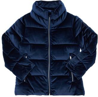Bomboogie Velvet Puffer Jacket