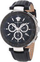Versace Men's I8C99D008 S009 Mystique IP Bezel Chronograph Tachymeter Watch