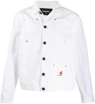 DSQUARED2 Over Jean denim jacket