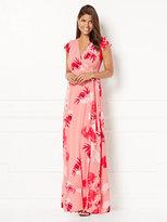New York & Co. Eva Mendes Collection - Allison Wrap Dress - Floral - Petite