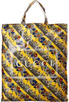 Gucci Floral Print Medium Tote