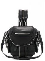 Alexander Wang Mini Marti Ball Stud Backpack in Black.