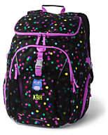 Lands' End ClassMate XL Backpack - Print-Knockout Pink Neon
