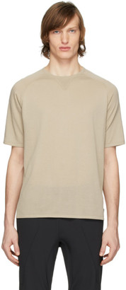 Ermenegildo Zegna Beige Knit T-Shirt