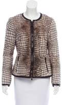 Armani Collezioni Patterned Casual Jacket