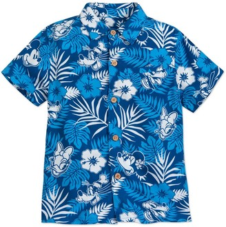 Disney Mickey Mouse and Friends Aloha Shirt for Boys Hawaii