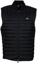 Lacoste Black Water Repellent Duck Down Gilet