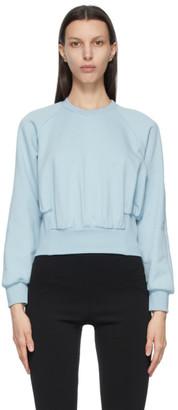 3.1 Phillip Lim Blue Raglan Sleeve Sweatshirt