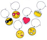 Emoji Icons Wine Charms (Set of 6)