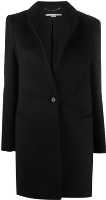 Stella McCartney Single-Breasted Wool Coat