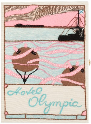 Olympia Le-Tan Hotel Olympic Book Clutch