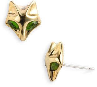 Elizabeth and James 'Fox' Stone Stud Earrings