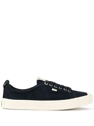 Cariuma OCA Low Navy Suede Sneaker