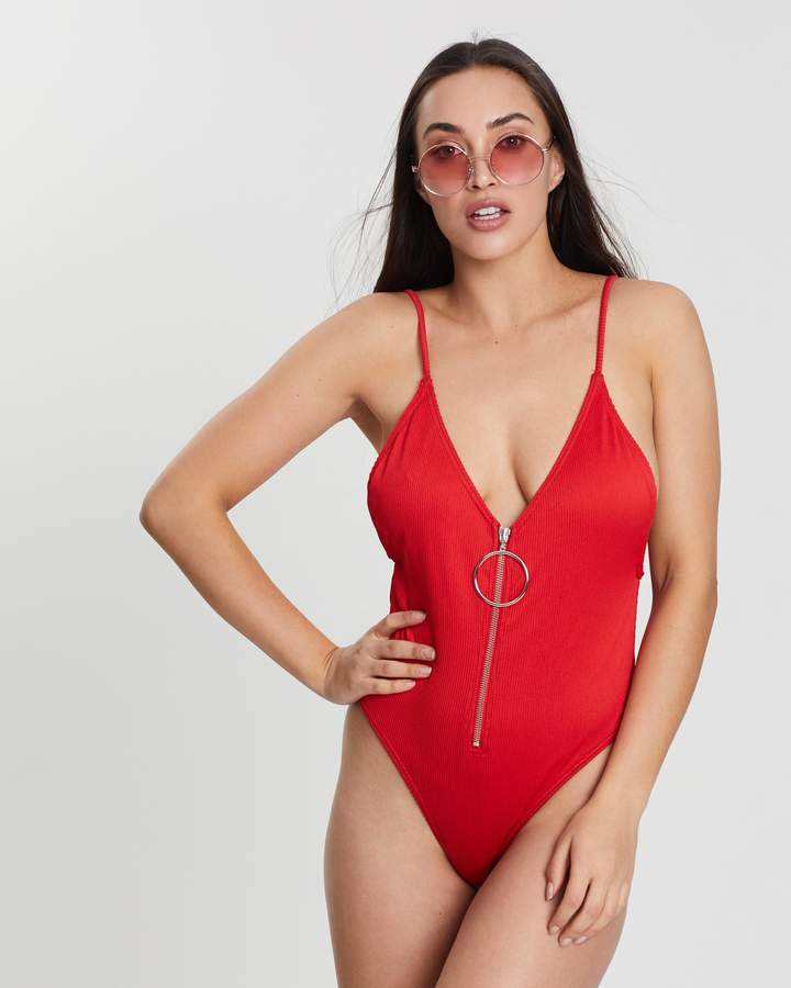ccb87a8aef6 Missguided Red Swimsuits For Women - ShopStyle Australia