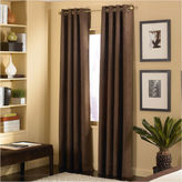 Asstd National Brand Cameron Microsuede Grommet-Top Curtain Panel