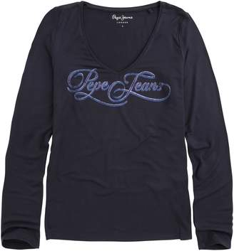 Pepe Jeans Marlene Printed Long-Sleeved T-Shirt
