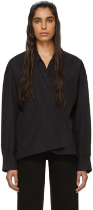 Lemaire Black New Twisted Shirt