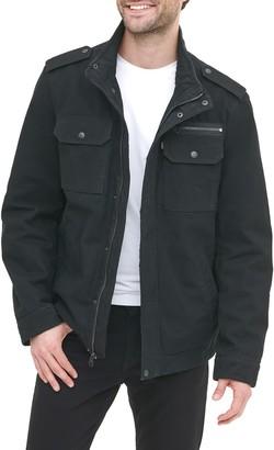 Levi's Reverse Twill Military Jacket