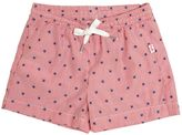 Il Gufo Striped Cotton Swimming Shorts