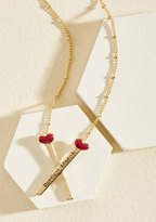 ModCloth Strike Up a Romance Necklace