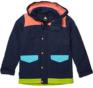 Burton Elstar Parka Jacket (Little Kids/Big Kids) (Dress Blue Multi) Girl's Coat