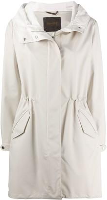 Moorer Drawstring Hooded Coat